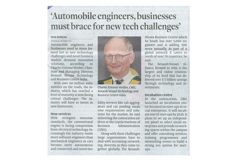 Automobile engineers, businesses must brace for new tech challenges