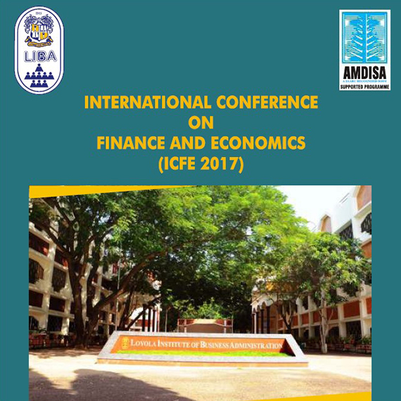 International conference on Finance and Economics (ICFE 2017)