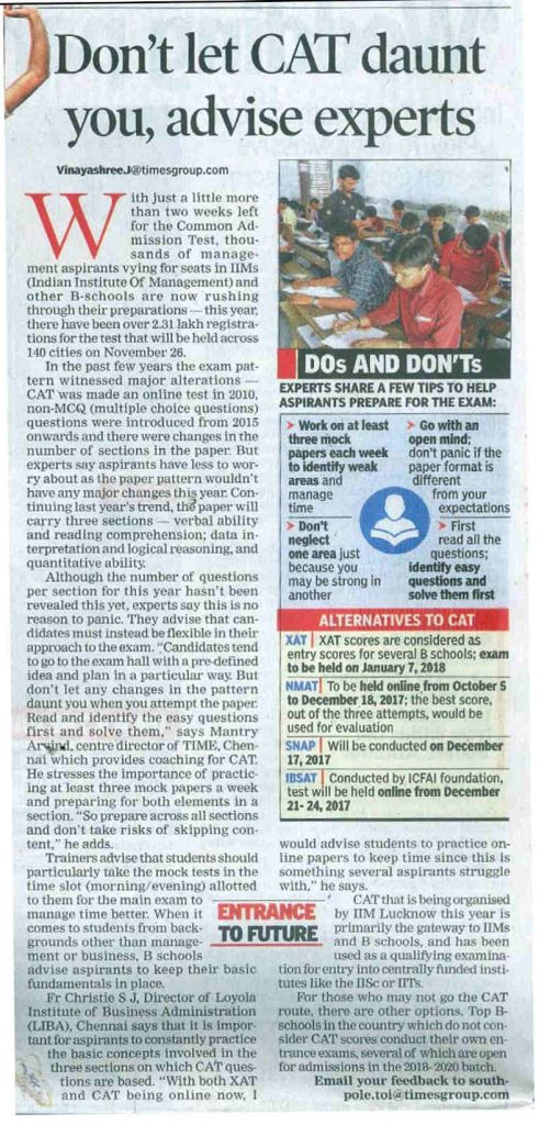 The Times of India - 10.11.2017
