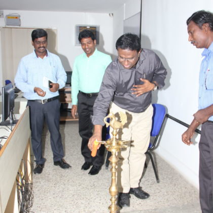Inauguration of Computerised Financial Accounting Programme for Jesuit scholastics