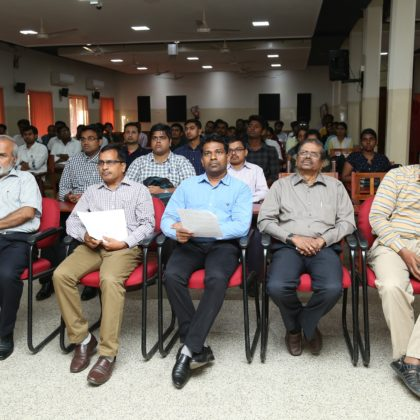 Inauguration of the Part – Time PGDM – 2019 Batch on  22nd June 2019