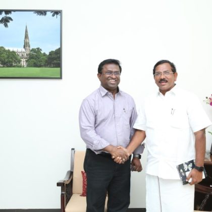 Inaugural BMI session held on 26 June 2019 – Thiru K. Pandiarajan, Minister for Tamil Official Language and Tamil Culture