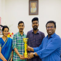 LIBA Students – Winners of the ICC Cricket World Cup Inter Collegiate Quiz Competition organized by British Council