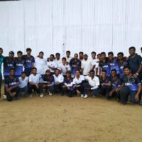 A friendly men's cricket match between F18's and F19's was organised by LIBA sports committee