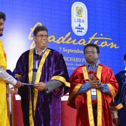 Graduation Day Celebrated in LIBA – 2019