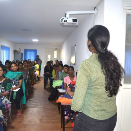 LIBA student's involvement in Women Skilling and Empowerment initiatives